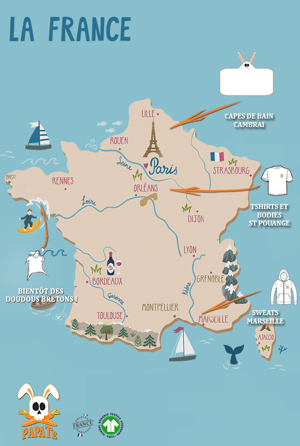 carte made in france papate mobile