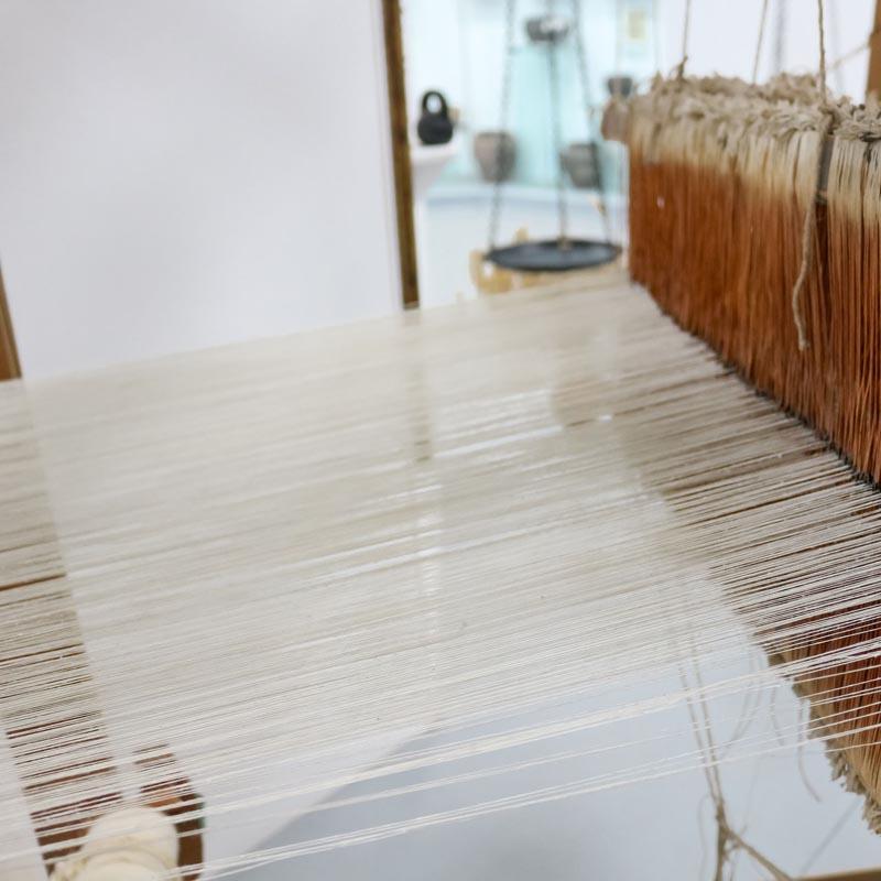 tisser sweat coton bio papate