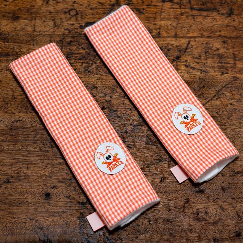 deux fourreaux protege ceinture perl pour papate