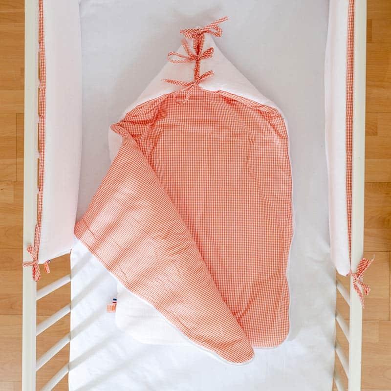 Nid ange blanc en coton bio papate