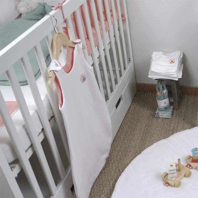 chambre bebe nid ange gigoteuse tapis coton bio made in france papate