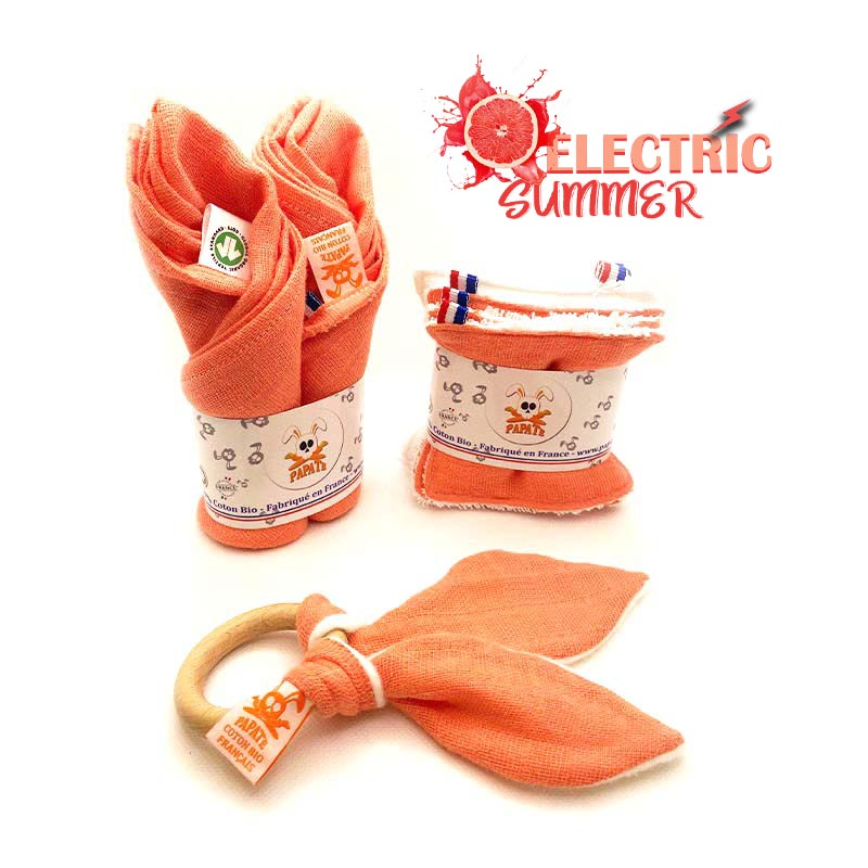 collection electric summer puericulture bio bebe papate