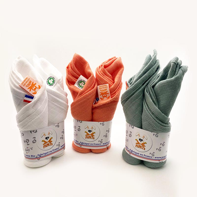 gamme langes papate pour bebe fabrication francaise bio