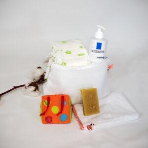 Trousse de Toilette Blanc