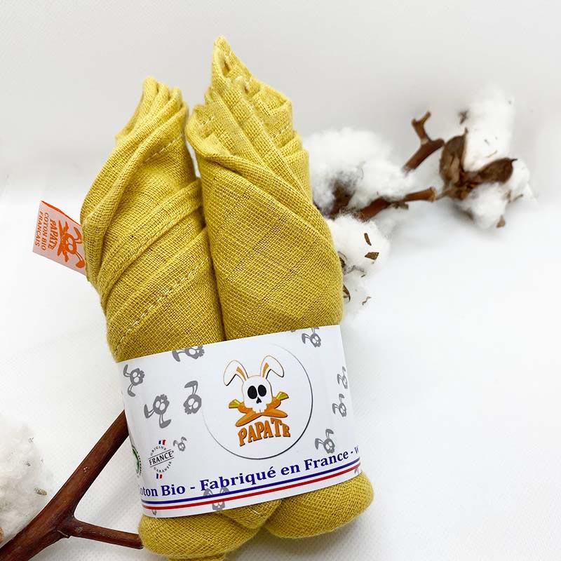 lange coton bio automne honey papate bebe